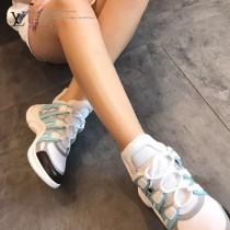 LV鞋子-01 路易威登專櫃同步上新男女款全新科技運動鞋