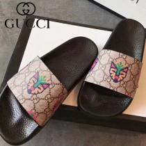 GUCCI鞋子-031 古馳人氣經典系列男女款印花一字拖拖鞋