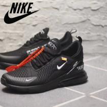 NIKE鞋子-07 Off White x 聯名Nike 270半掌氣墊真標版本情侶款運動鞋