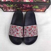 GUCCI鞋子-028 古馳人氣經典系列男女款印花一字拖拖鞋