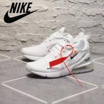 NIKE鞋子-08 Off White x 聯名Nike 270半掌氣墊真標版本情侶款運動鞋