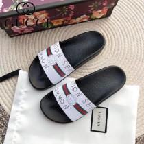GUCCI鞋子-018 古馳人氣經典系列男女款印花一字拖拖鞋