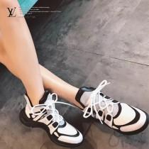 LV鞋子-04 路易威登專櫃同步上新男女款全新科技運動鞋