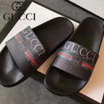 GUCCI鞋子-029 古馳人氣經典系列男女款印花一字拖拖鞋