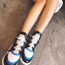 LV鞋子-02 路易威登專櫃同步上新男女款全新科技運動鞋