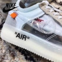 Nike鞋子-013 Off White x Nike空軍壹號經典百搭板鞋