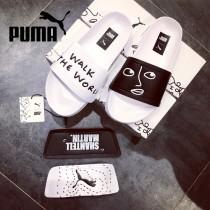 PUMA鞋子-01 彪馬Shantell Martin x PUMA夏季魔術貼沙灘拖鞋