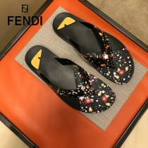 FENDI鞋子-07 芬迪原版復刻男拖鞋