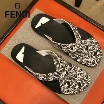 FENDI鞋子-09 芬迪原版復刻男拖鞋