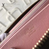 LV M67246 情人節主題設計ZIPPY原單愛情狗圖案長款拉鏈錢包