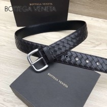 BV皮帶-02  低調奢華原單  意大利小牛皮手工編織皮帶