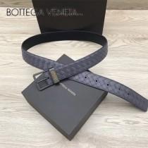 BV皮帶-03-2  原單  經典款 針扣  手工編織皮帶