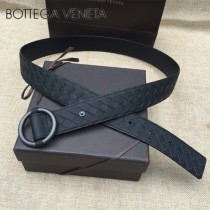 BV皮帶-06  原單 新款圓扣  手工編織皮帶
