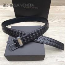 BV皮帶-03-1  原單  經典款 針扣  手工編織皮帶