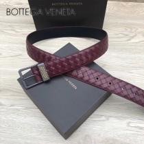 BV皮帶-03  原單  經典款 針扣  手工編織皮帶