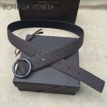 BV皮帶-06-3  原單 新款圓扣  手工編織皮帶