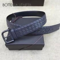 BV皮帶-02-5  低調奢華原單  意大利小牛皮手工編織皮帶