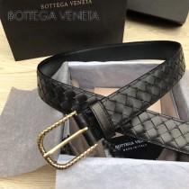 BV皮帶-04 原單 新款金扣 手工編織皮帶