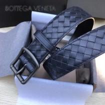 BV皮帶-09 原單 新款針扣 男士純手工編織皮帶