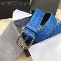 BV皮帶-04-4 原單 新款金扣 手工編織皮帶