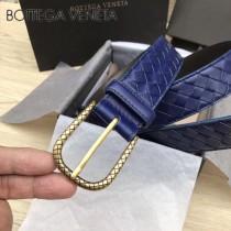 BV皮帶-04-5 原單 新款金扣 手工編織皮帶
