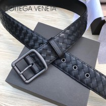 BV皮帶-09-2 原單 新款針扣 男士純手工編織皮帶