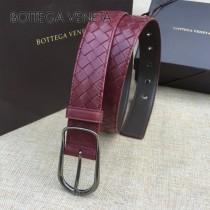 BV皮帶-19-1 原單 手工編織針扣皮帶  低調奢華