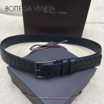BV皮帶-18-1 原單 經典款針扣手工皮帶 低調奢華