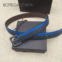 BV皮帶-13-2 原單 拼色手工編織皮帶  为休闲装或正装造型增添优雅韵味