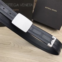 BV皮帶-12 原單 新款正裝皮帶 手工編織皮帶