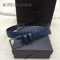 BV皮帶-18-2 原單 經典款針扣手工皮帶 低調奢華