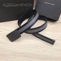 BV皮帶-12-1 原單 新款正裝皮帶 手工編織皮帶