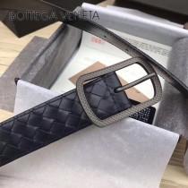 BV皮帶-27-1 原單 新款針扣 純手工編織皮帶