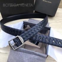 BV皮帶-20-2 原單 新款純手工編織皮帶 低調奢華