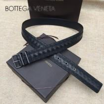 BV皮帶-24 原單 新款針扣 刺繡 男士休閑皮帶