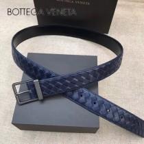 BV皮帶-25-1 原單 新款針扣 镍色扣头 手工編織皮帶