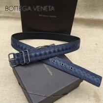 BV皮帶-24-1 原單 新款針扣 刺繡 男士休閑皮帶