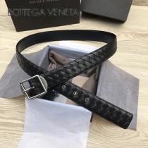 BV皮帶-20-3 原單 新款純手工編織皮帶 低調奢華