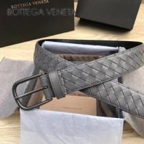 BV皮帶-29-1 原單  新款镍色扣头 手工編織皮帶  低調奢華的典範
