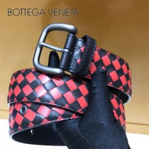 BV皮帶-22-2 原單 新款拼色 手工編織皮帶