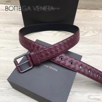 BV皮帶-21 原單 新款扣頭 手工編織皮帶