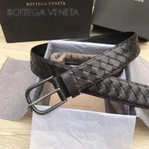 BV皮帶-29 原單  新款镍色扣头 手工編織皮帶  低調奢華的典範