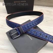 BV皮帶-28-3 原單 彩色油邊  手工編織皮帶 低調奢華