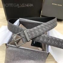 BV皮帶-25 原單 新款針扣 镍色扣头 手工編織皮帶