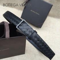 BV皮帶-25-2 原單 新款針扣 镍色扣头 手工編織皮帶