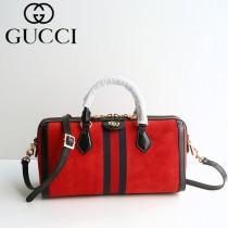 GUCCI 524532-2 專櫃新品女士Ophidia原單天鵝絨搭配牛皮手提單肩包