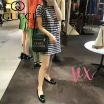 GUCCI 523591-2 時尚新品男女同款原單塗鴉印花單肩斜挎包郵差包
