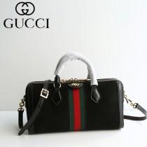 GUCCI 524532 專櫃新品女士Ophidia原單天鵝絨搭配牛皮手提單肩包