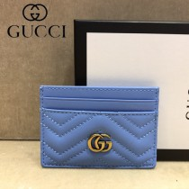 GUCCI-443127 古馳時尚新款原單小牛皮卡包 信用卡夾