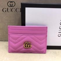 GUCCI-443127-02 古馳時尚新款原單小牛皮卡包 信用卡夾